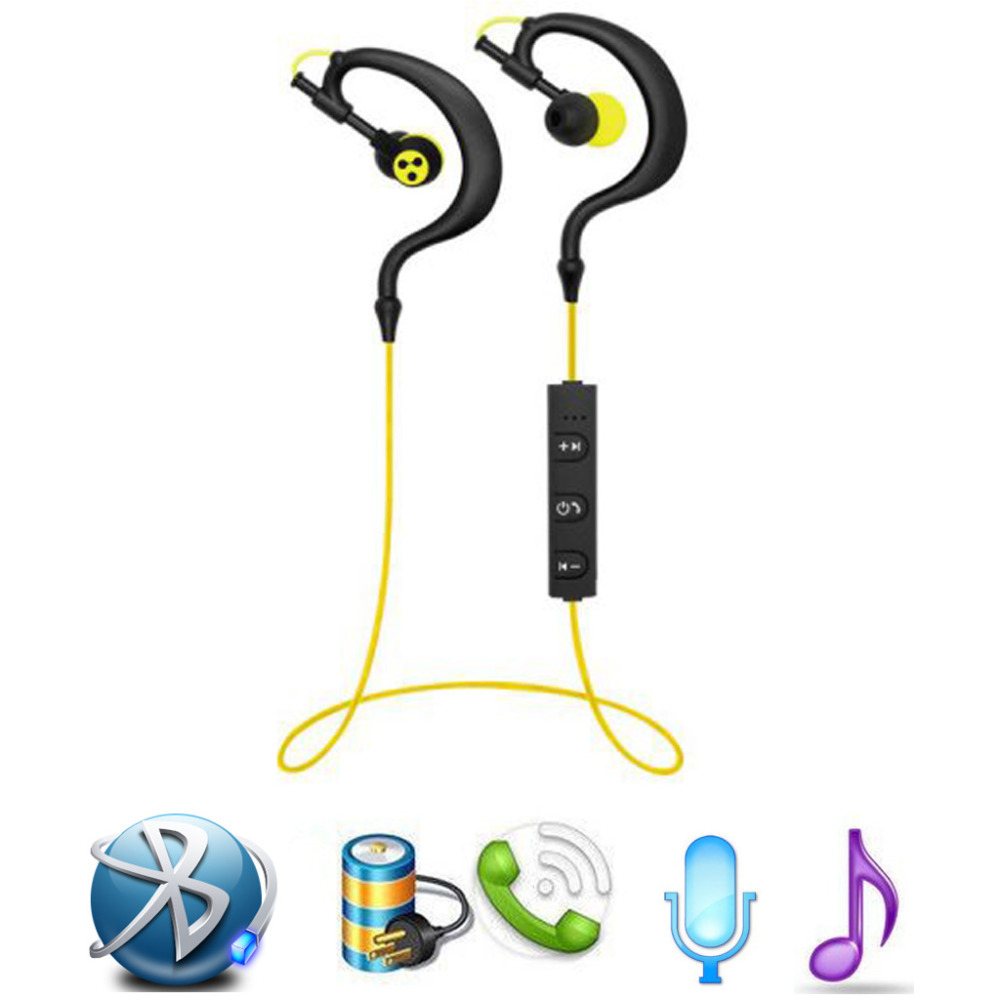 Syllable D700 Bluetooth 4.1 Earphone Sport Wireless HIFI Music Stereo Headset Built in Mic Microphone Headphone(China (Mainland))