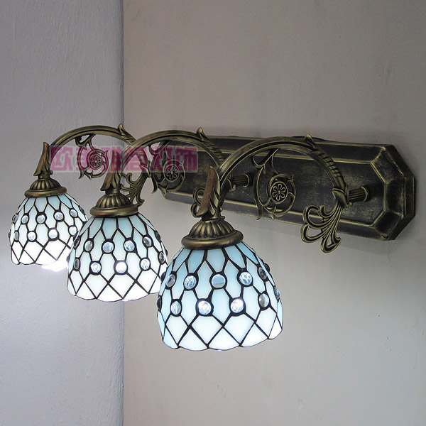 free shipping Tiffany lighting lamps bed mirror fashion trend of the wall lamp(China (Mainland))