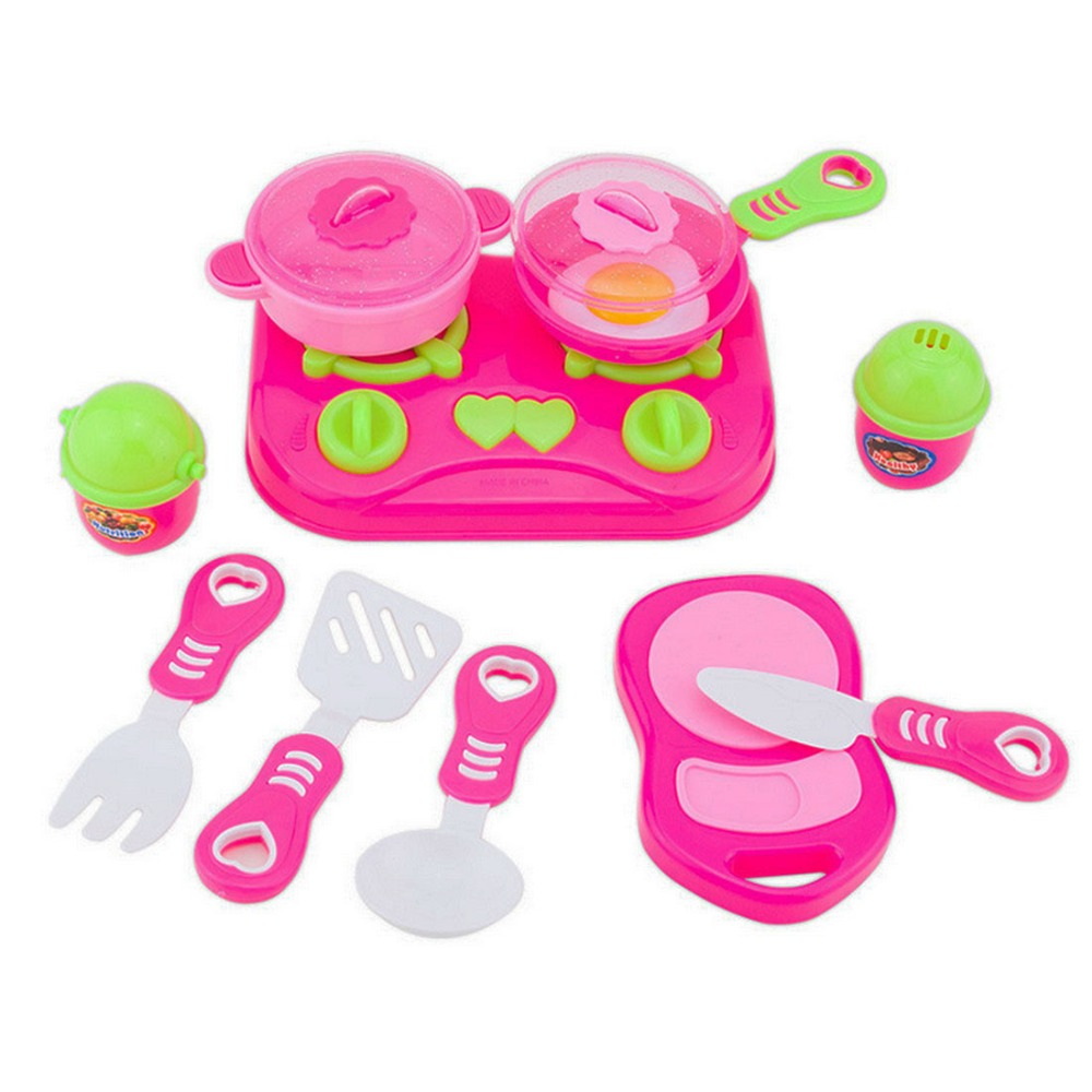 Play Toys For Girls : מוצר pcs pink kids house children kitchen toys for