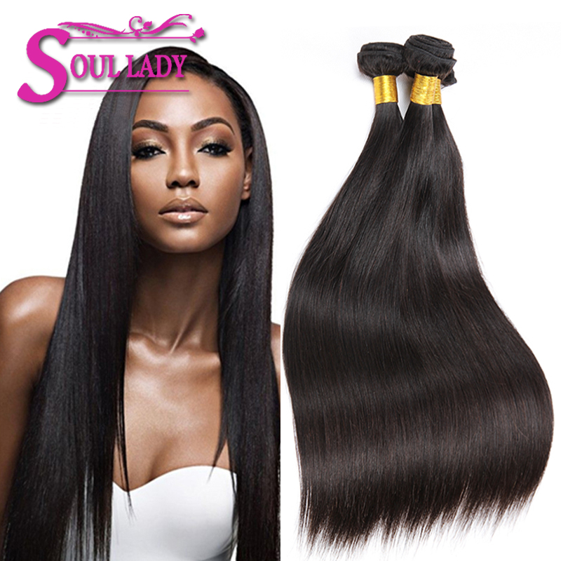 6A Malaysian Virgin Hair Straight 4Bundles Malaysian Straight Hair 8