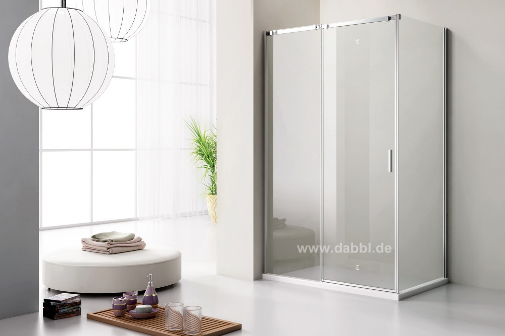 1200x800x1950mm Sliding Door Shower Enclosure Cubicle Glass Door Glass Shower DY-DSC821L(China (Mainland))