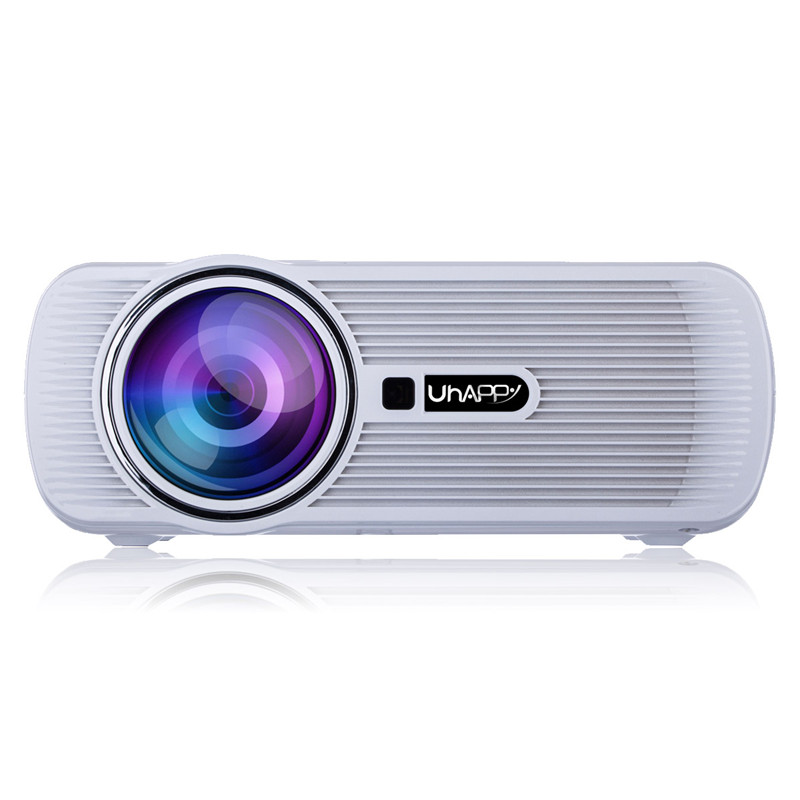 Mini Portable Digital LED 3D Projector 1000 Lumens Native Resolution 800x480 Support 720p Full HD 1080p Video Projector(China (Mainland))