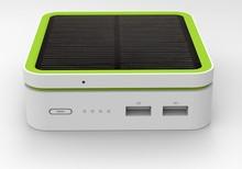 J32 + Solar Module G-Power Bank 10000mAh (Actual Capacity)  Multi-Function Expand Module (LED, QI, Solar )(China (Mainland))