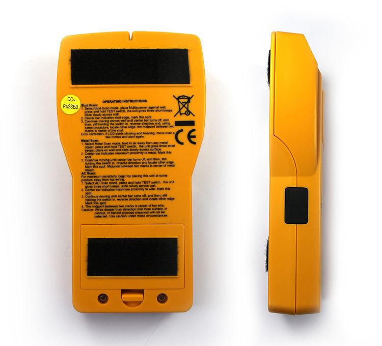 all sun Electronic Stud Metal AC Wires Detector 3 in 1 Multiscanner Autopower Wood Stud Metal