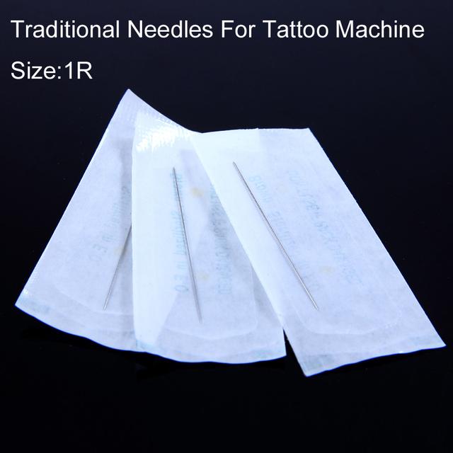 500Pcs/Box 1RL Eyebrow Tattoo Needles For Electric Permanent Tattoo Machine Singe Eyebrow Needles For Beauty Makeup Hotsale