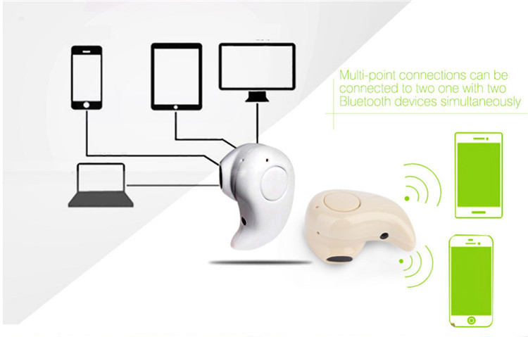 TTLIFE Mini S530 Wireless Bluetooth V4.0 In-Ear Headphone Handfree Stealth Earphone Sport Headset for All Phone iPhone 6 7 Plus