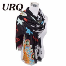 letter tassel scarf for women Autumn Winter Woman Long Cotton Scarf Scarves Foulard large shawl lady New Design Brand Luxury(China (Mainland))