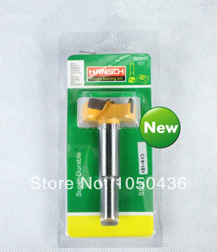 New diameter 40mm drill bits hinge open hole drill professional forstner wood working hole saw wood cutter(China (Mainland))