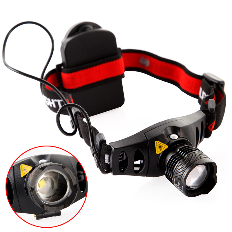 160 Lumen Q5 LED Headlight Headlamp Zoomable Zoom in/out 4-mode Brightness SOS AAA Head Light for Outdoor Sport(China (Mainland))