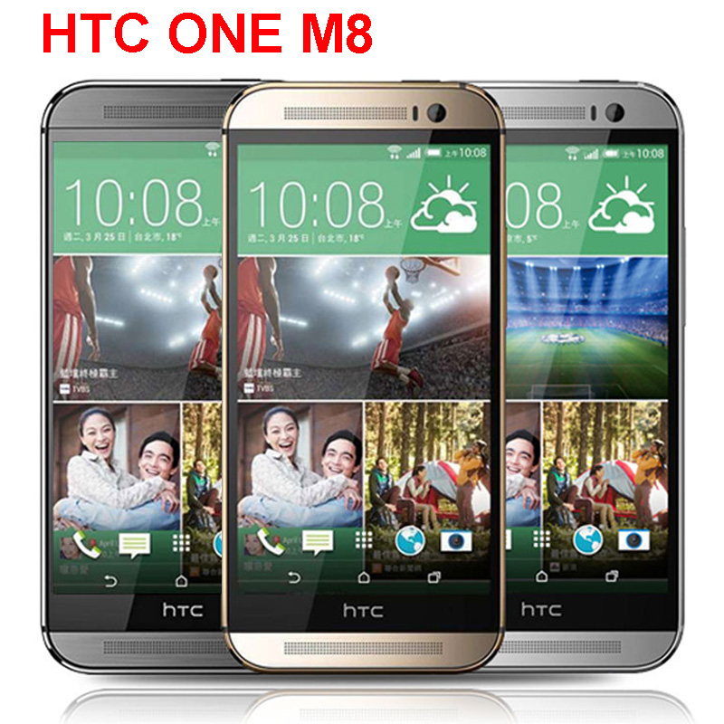 "Original HTC One M8 Unlocked GSM/WCDMA/LTE Quad-core RAM 2GB Cell Phone HTC M8 5.0"" 3 Cameras Phone(China (Mainland))"