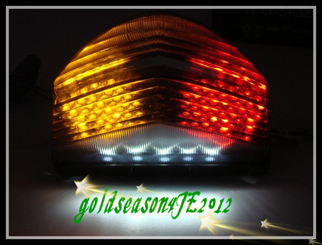 SMOKE Integrated LED Tail Light 01-03 02 Honda CBR 600 F4I 2001 2002 2003 - Motorcycle Parts Retail& Aftermarket store