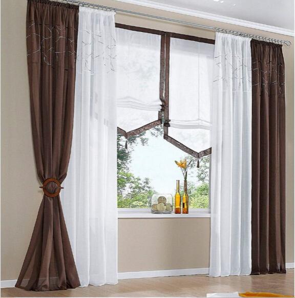 Дизайн гардин на окне