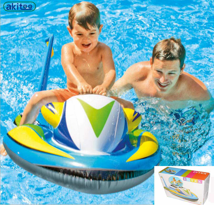 New arrival Children's Inflatable Boat Surf Riding Airship Water Inflatable Toys Inflatable Pool Toys best gift playing toys(China (Mainland))