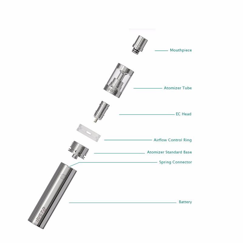 ถูก ของแท้100% Eleaf iJust 2ชุด5.5มิลลิลิตรเครื่องฉีดน้ำ30วัตต์-80วัตต์iSmokaฉันเพียงแค่2บุหรี่อิเล็กทรอนิกส์บุหรี่อิเล็กทรอนิกส์ชุด