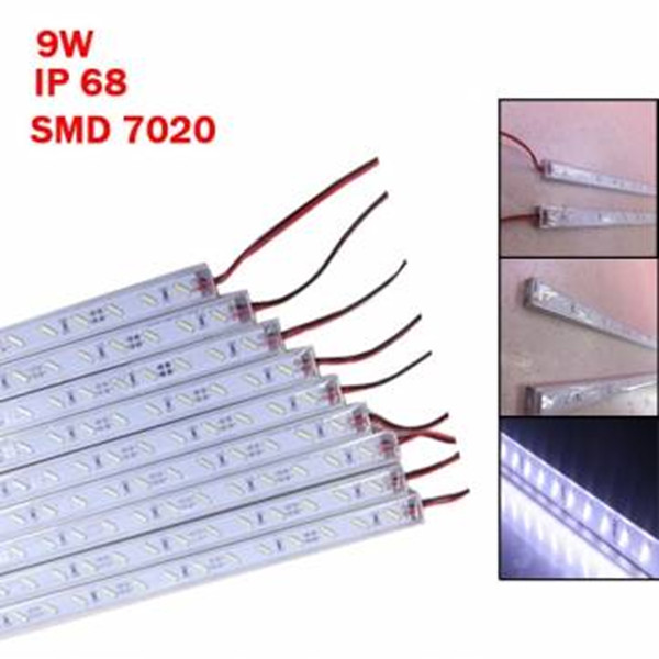 Big Promation High Quality 50cm IP68 9W SMD7020 36LED White LED Rigid Strip Swim Pool/Camping & outdoor Lighting For DC 12V(China (Mainland))