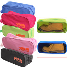 V1NF Portable Waterproof Shoe Storage Bag Travel Visual Breathable Organizer High Quality Free Shipping(China (Mainland))