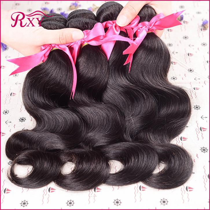 6A Queen Hair Products Indian Virgin Hair Body Wave 4 Bundles Unprocessed Virgin Indian Hair Body Wave Cheap Human Hair Bundles(China (Mainland))