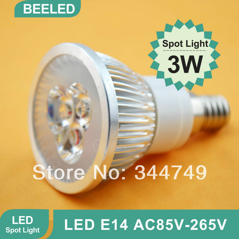 10PCS/lot E14 LED spotlight bulb Free shipping MR16 GU10 E27 B22 E14 GU5.3 Spotlight Lamp LED Light home Downlight 110V 220V<br><br>Aliexpress