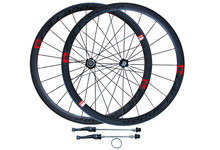 Buy High Strong CALLANDER 700C 48mm clincher rims Road bike matt 3K full carbon bicycle wheelsets 38 50mm width 3 Color for $491.92 in AliExpress store