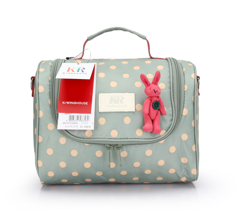 Bebamour 2 Colors Maternity Mother Diaper Bags Tote Shoulder Multifunctional Baby Bag Dot Cute Baby Nappy Bag Changing Bags(China (Mainland))