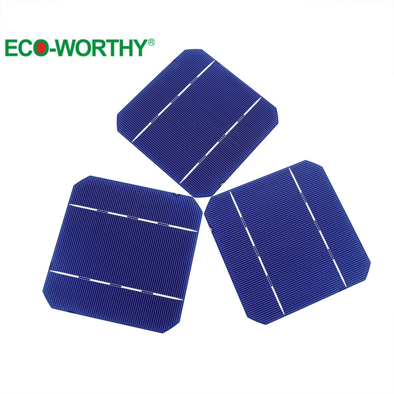 10pcs 5x5 A Grade Mono Monocrystalline Solar Cell 125*125 Solar Cell For DIY 20W Solar Panel(China (Mainland))