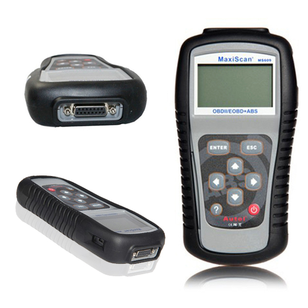 NEW Autel MaxiScan MS609 OBD II / EOBD Scan Tool + ABS MS 609 Auto Code Reader 100% Original Free Update(China (Mainland))