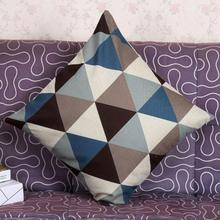 Wave shape geometric cushion covers