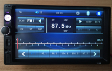 2 Din Full-Touch Car PC Tablet double 2din Audio 7'' Car Stereo Radio No-DVD mp3 Player Bluetooth iPod(China (Mainland))
