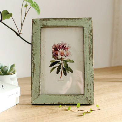 Vintage wood photo frame for 4r photo / home decoration / 5 colours / gift(China (Mainland))