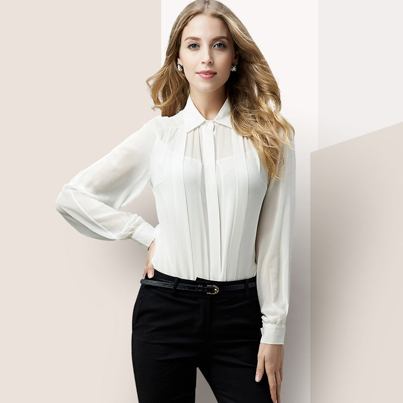 Perfect Casual White Blouses - Blouse Styles