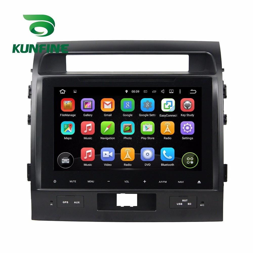 Car DVD GPS Navigation Player Deckless for TOYOTA LAND CRUISER 2012-2015  B