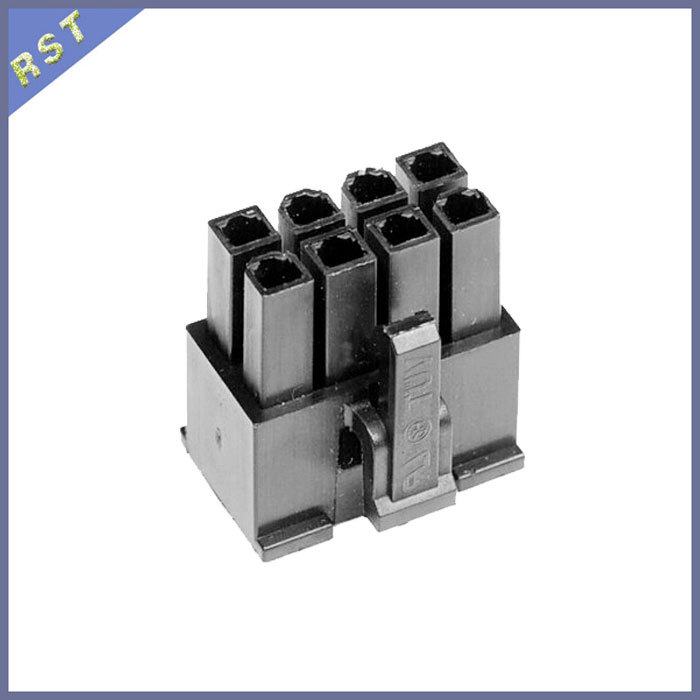 Wholesale High Quality Black 8 Pin ATX/EPS Power Connector Male and Female<br><br>Aliexpress