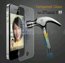 2PCS/lot For Apple Iphone 4/4S 0.3mm 9H Explosion-proof Tempered Glass Screen Protector