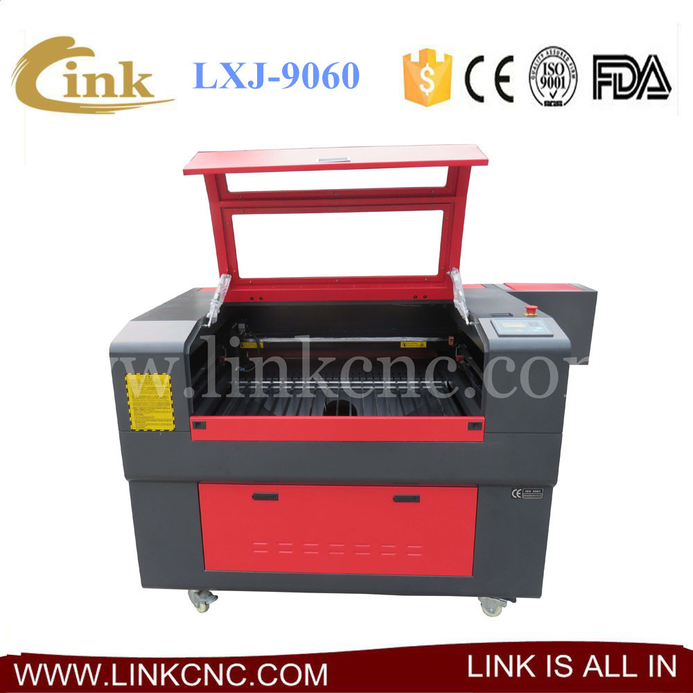 900*600mm CE standard Multifunction LXJ9060 laser leather cutting machine prices(China (Mainland))