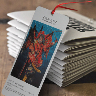 12pcs/lot Vintage Retro Paper Book Mark Bookmark new cute design flowers gift Notes students cool national opera printing XM(China (Mainland))