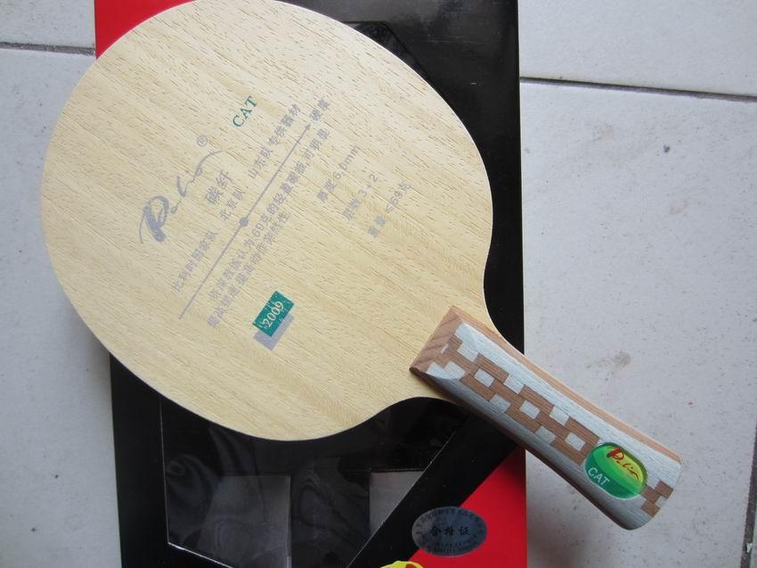 Original palio cat table tennis blade 3wood 2carbon table tennis blade best light blade table for Table tennis 6 0