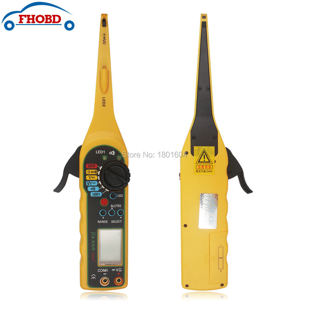 2pcs/lot Wholesale High Quality Car Multi-function Auto Circuit Tester Multimeter Lamp Probe Light Diagnostic Tool Free Shipping<br><br>Aliexpress