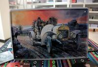 Antique car vintage retro nostalgic finishing fashion decoration muons paintings new arrival