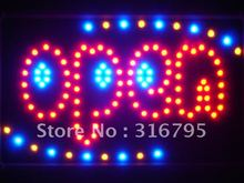 led112-r OPEN Shop Bar Beer Led Neon Sign WhiteBoard(China (Mainland))