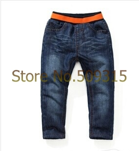 childrens jeans pants brand jeans for boys thick winter warm cashmere kids pants boys girls baby jeans children winter jeans<br><br>Aliexpress