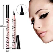 2015 New Smooth Waterproof Liquid Eye Liner Eyeliner Pen Make up Cosmetic Black Magic Maquiagens Rimel Colossal Delineador(China (Mainland))