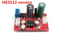 Newest high quality NE5532 / AD828 Op amp preamp board Single-supply operation Amplifier preamp module(China (Mainland))