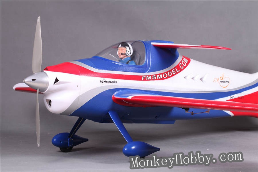 FMS RC airplane 1400mm / 1.4M F3A Olympus RC plane PNP without Radio, battery