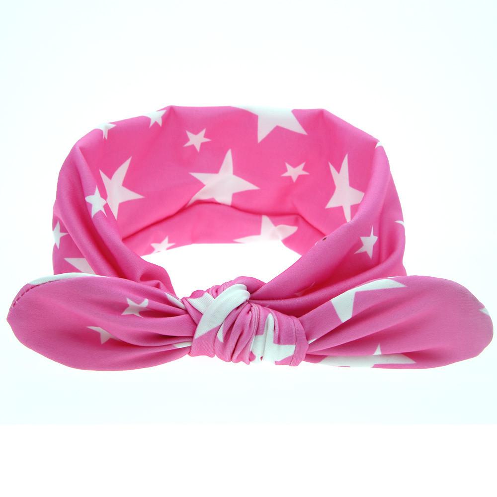 Promotion 1 PC Fashion Baby Girl Dot Knot flower Headband Newborn Infant Hair Accessories Children Elastic Hair Bands nice(China (Mainland))