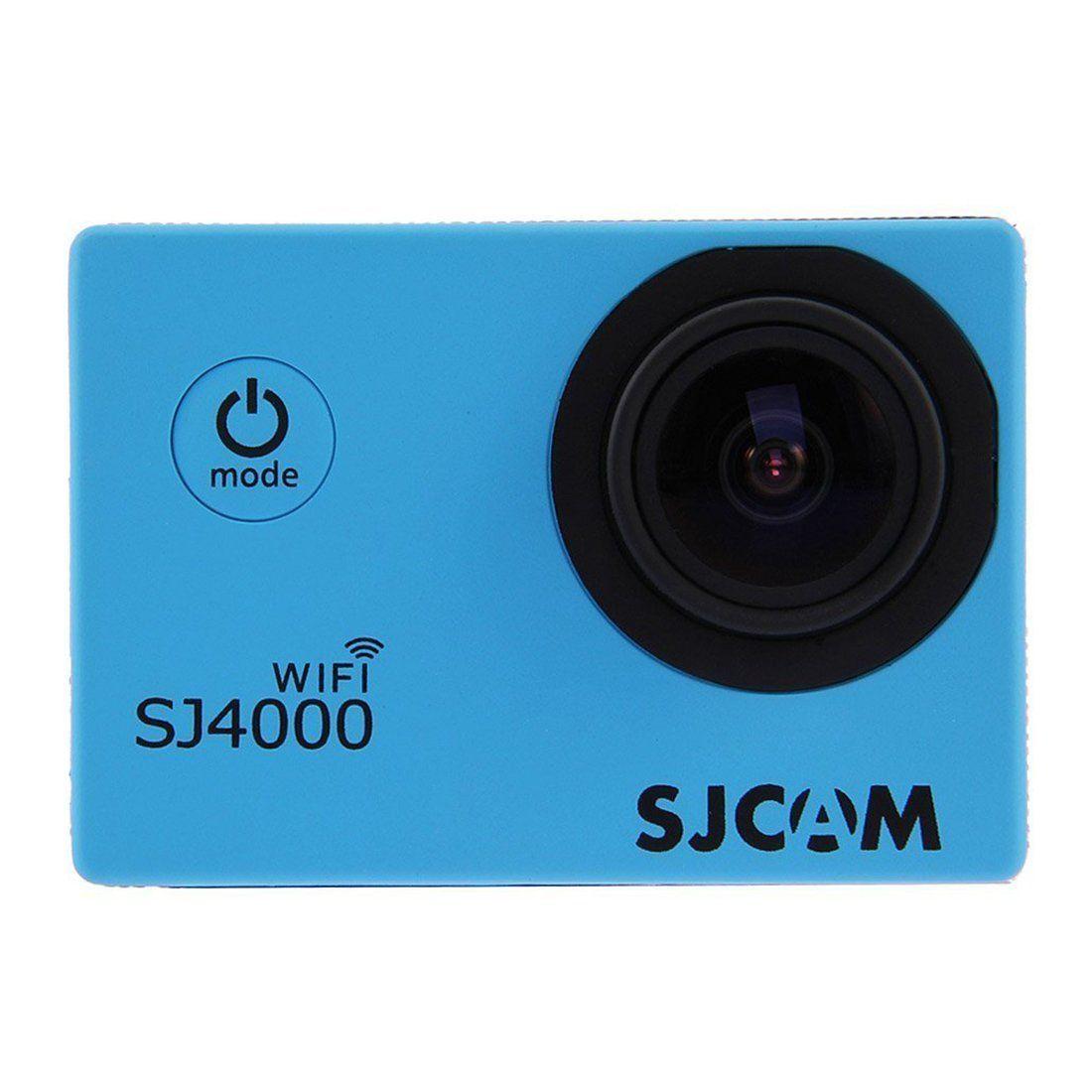 100% оригинальный стиль доставка sj4000 действия беспроводной водонепроницаемая камера 1080p HD видеокамера Автомобильный видеорегистратор Новый синий