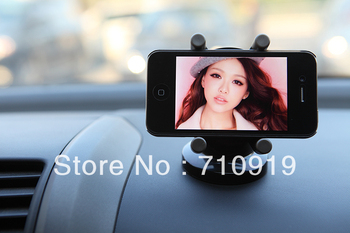 Secures Any Device 360 Degree Rotation Car Dashboard & Air Vent Holder for iPhone/GPS/Mobile/PDA T15385b