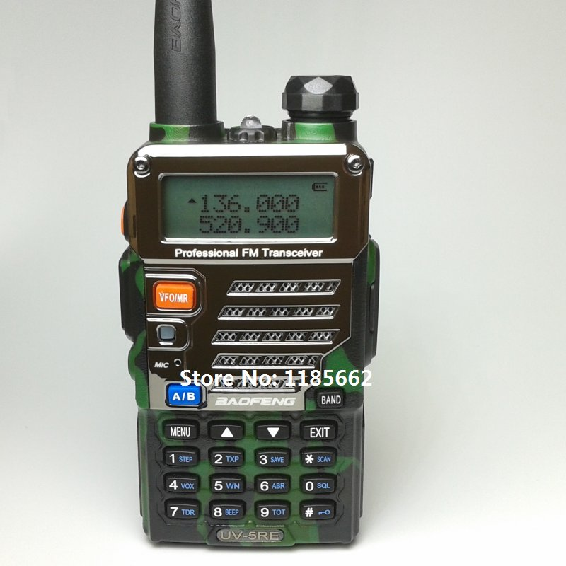 New Original Baofeng UV-5RE two way radio, 136-174MHz&400-520MHz, UV5RE walkie talkie for ham, hotel, commercial, security use(China (Mainland))