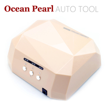 1106-New Arrival AUTO Sensor LED Nail Lamp Nail Dryer Diamond Shaped 36W Long LIife LED CCFL Curing Nail Tools