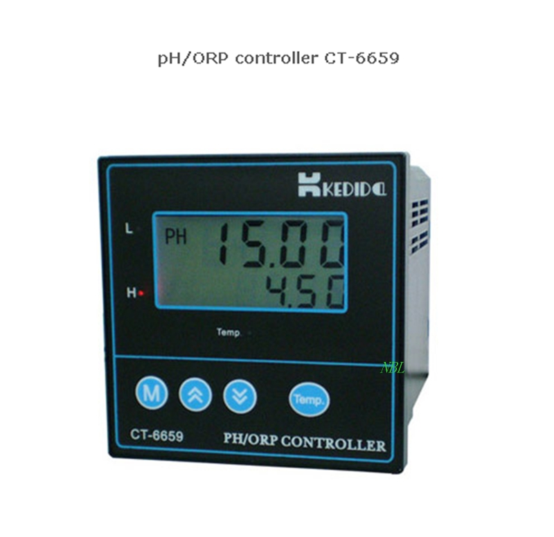 PH Meter ORP Controller CT-6659 Oxidation Redox Meter Measure Analyzer With ATC Function For Laboratory Industry Experiment(China (Mainland))