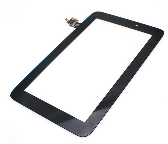"Black Original 7"" Lenovo IdeaTab A2107A A2207 Tablet touch screen LCD digitizer panel Sensor Glass Replacement Free Shipping(China (Mainland))"